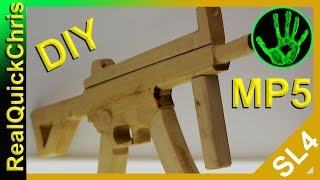 how to build a wooden mp5
