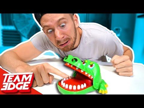 Crocodile Finger CHOMPER Game