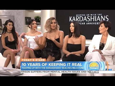 Keeping Up With The Kardashians 10th Anniversary Today Show