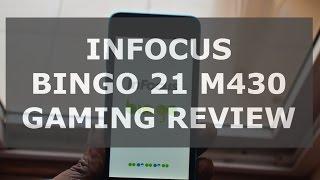 Infocus Bingo 21 M430 Gaming Review, Heating test