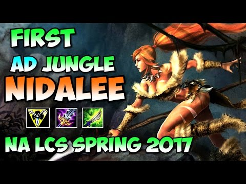 First AD Nidalee in NA LCS 2017 Spring NV vs C9