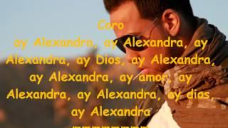 Letra de Alexandra Aventura