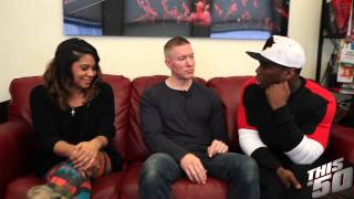 Pt2: Angela Yee Talks POWER With Joseph Sikora & 50 Cent