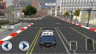 Police Car Chase - Hot Pursuit / Police Sports Car Games / Android Gameplay FHD