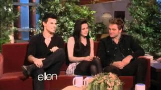 Taylor Lautner Dances with Ellen