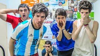 Argentina 0 Paraguay 1 | Eliminatorias Rusia 2018 | Reacciones de Amigos