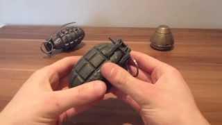WW1 British mills No5 hand grenade disassembly