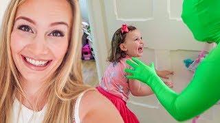 SCARING THE KIDS PRANK!!