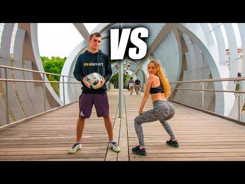 Xxx Mp4 FÚTBOL VS TWERK Retos De Fútbol Freestyle VS Twerk Freestyle 3gp Sex