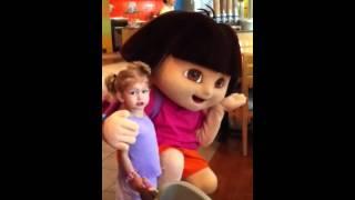 Kate meets Dora!