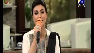 Ni Main Jana Jogi De Naal performed by Fariha Pervez in Subh e Pakistan
