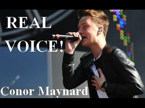 Download Conor Maynard REAL VOICE! On Musiku.PW
