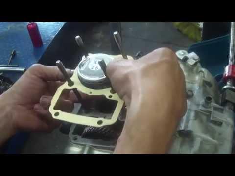 Motor Titan 125 ano 2000 Montagem passo a passo Cássio mecânico