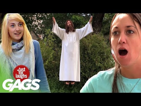 Defying Gravity Insane Pranks Best of Just For Laughs Gags