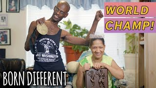 Champion Bodybuilding Couple With Cerebral Palsy   BORN DIFFERENT