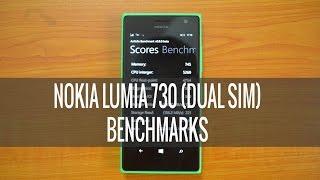 Nokia Lumia 730 Benchmarks