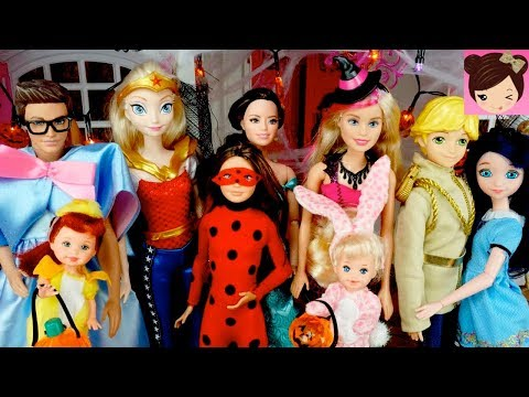 Xxx Mp4 Barbie Dream House Halloween Dress Up Party SLIME PRANK 3gp Sex