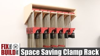 Space Saving Parallel Clamp Rack | DIY Build Plans