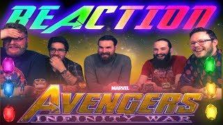 Marvel Studios' Avengers: Infinity War - Official Trailer REACTION!!