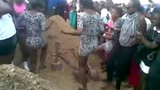 Women Starts Shaking They Booty At Prostitute Funeral In