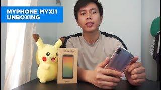 MyPhone myXi1 unboxing