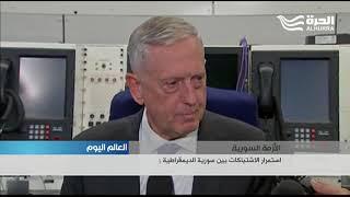 ماتيس يقول ان بلاده ستوقف تسليح الاكراد في سورية عند انتهاء الحرب على داعش