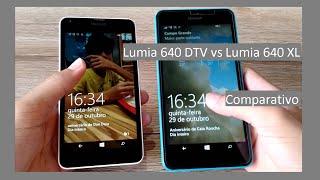 Microsoft Lumia 640 DTV vs Microsoft Lumia 640 XL [ Comparativo ] PT BR