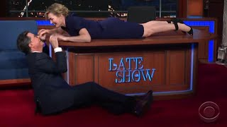 Kate Winslet and Stephen Colbert Have a New Ending for Jack in 'Titanic'