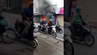 Cháy Quán Điện Thoại Tại Trung Hòa Yên Mỹ l Bảo Duy mobile