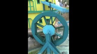 Haunted Waterwheel Defying Physics