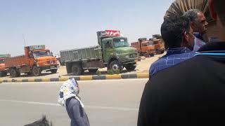 Iran - le 25 mai, La grève des camionneurs de Varzaneh