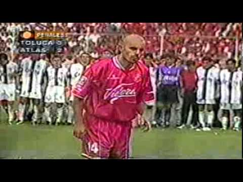Final Toluca vs Atlas Penales Final Verano 1999