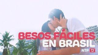CONSIGUIENDO BESOS FACILES EN BRASIL | RETOS - (NTPtv)