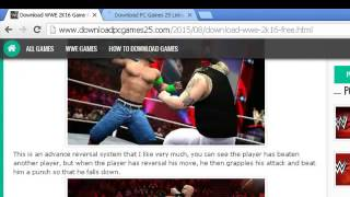 How To Download and Install WWE 2K16 Game For PC