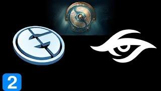 EG vs Secret Game 2  The International 2017 Highlights Dota 2