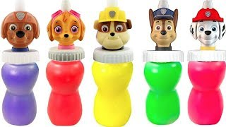 Best Learning Colors for Kids Video with Paw Patrol Slime Surprise Toys