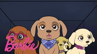 Concert Crashers | Barbie & Her Sisters in a Great Puppy Adventure | Barbie