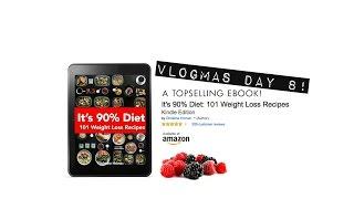 101 FREE Recipes, Ebook Download!! | Vlogmas Day 8 | Gauge Girl Training