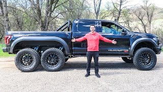 The Hennessey Velociraptor 6x6 Costs $350,000 And It's Amazing