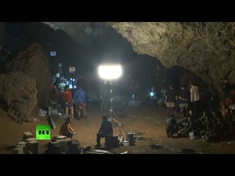 Xxx Mp4 Thai Forces Search Football Team Missing In Cave Complex 3gp Sex