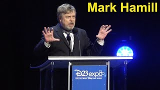 Mark Hamill Receives Disney Legends Award at D23 Expo 2017; Talks Disney Influence & Carrie Fisher