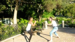 Ajarn Sean Dooney and Rose Thai Knife Defence .