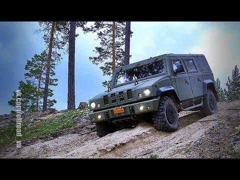 Test drive of the URAL TIGR IVECO HAMMER military SUVs. Тест драйв вое� � ых в� едорож� иков.