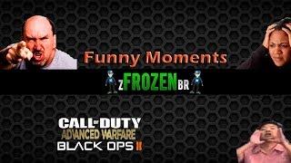 Momentos Engraçados Aw e Bo2 - Só sniper , Reações , fui chingado e mais
