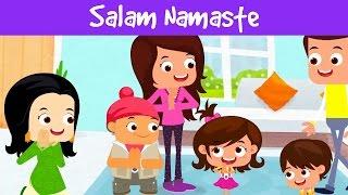 Salaam Namaste | Hello In Different Languages | Kids Videos | Indian Culture | Jalebi Street