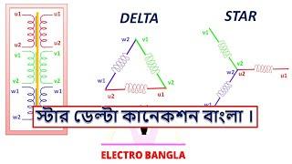 Star or delta connection in bangla. ( বাংলা )