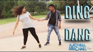 Ding Dang Dance Video | Munna Michael 2017 | Tiger Shroff & Nidhhi Agerwal | Sanjay deshani