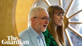 Jeremy Corbyn and Angela Rayner outline Labour