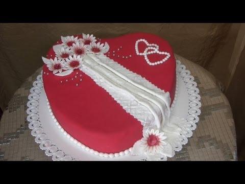 Torta cuore per San valentino RICETTA PERFETTA e SEMPLICE