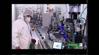 Iran military lithium ion batteries production line توليد باتري هاي ليتيوم آيون ايران